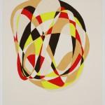 Swoosh 2, 2010 acrylic,canvas, 48 x 39 in.