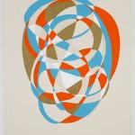 Swoosh 3, 2010 acrylic,canvas, 48 x 39 in.